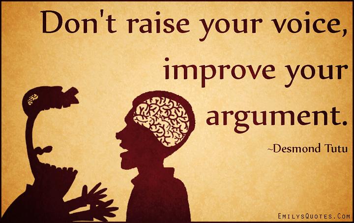 Quality arguments
