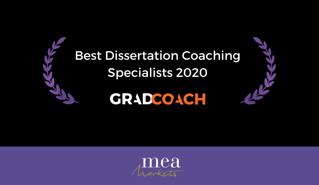 Grad Coach Awarded Best Dissertation Coach 2020