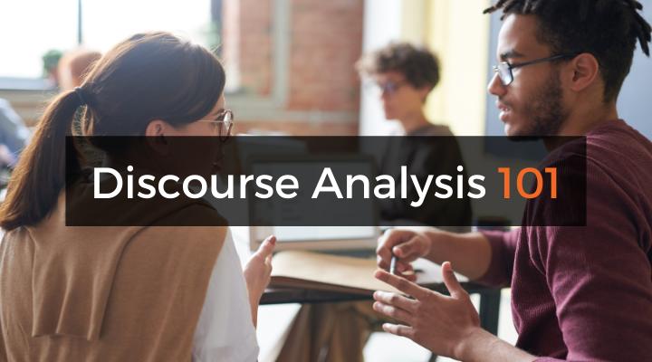 Discourse analysis 101