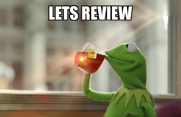 review is the final stage of discourse analysis