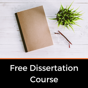 Free dissertation writing course
