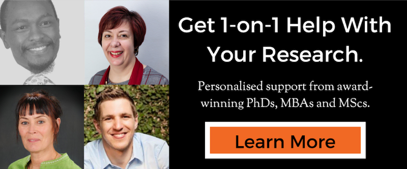 Get 1-On-1 Help With Your Dissertation Or Thesis