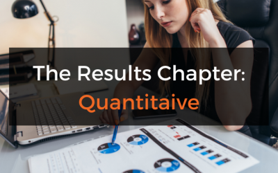 The Dissertation Results/Findings Chapter (Quantitative)