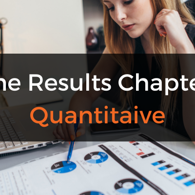 The Dissertation Results/Analysis Chapter (Quantitative)