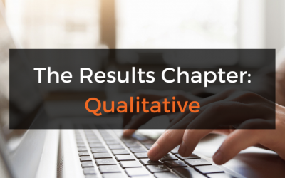 The Dissertation Results/Findings Chapter (Qualitative)