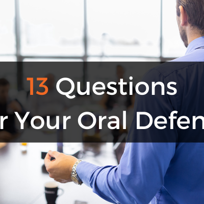 Preparing For Your Dissertation Defence: 13 Questions You Need To Be Ready For