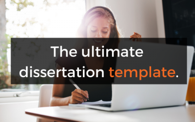 Free Download: Dissertation/Thesis Template (Word Doc & PDF)