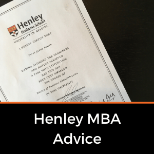 Henley MBA Tips