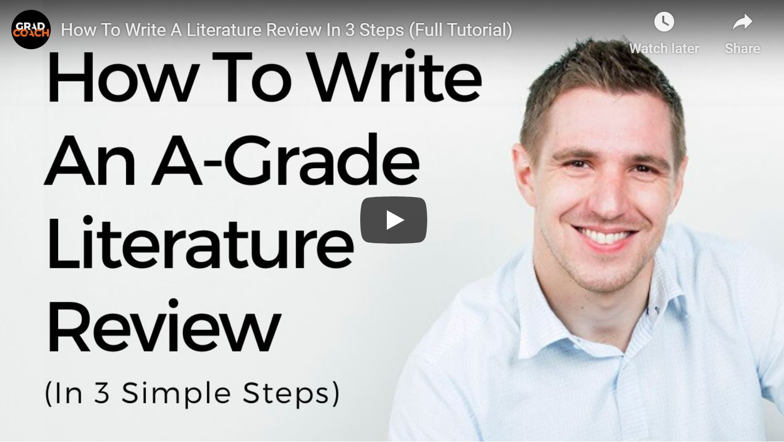 How To Write A 5-Star Literature Review (In 3 Straightforward Steps)
