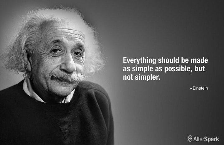 Keep your exec summary simple