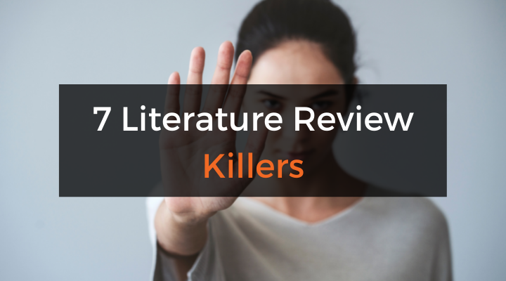 Literature review mistakes