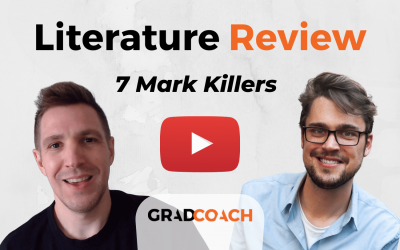Literature Review Killers: 7 Common Literature Review Mistakes To Avoid