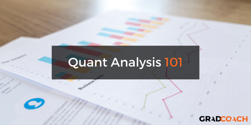Quantitative Data Analysis 101: Methods, Techniques & Terminology Explained.