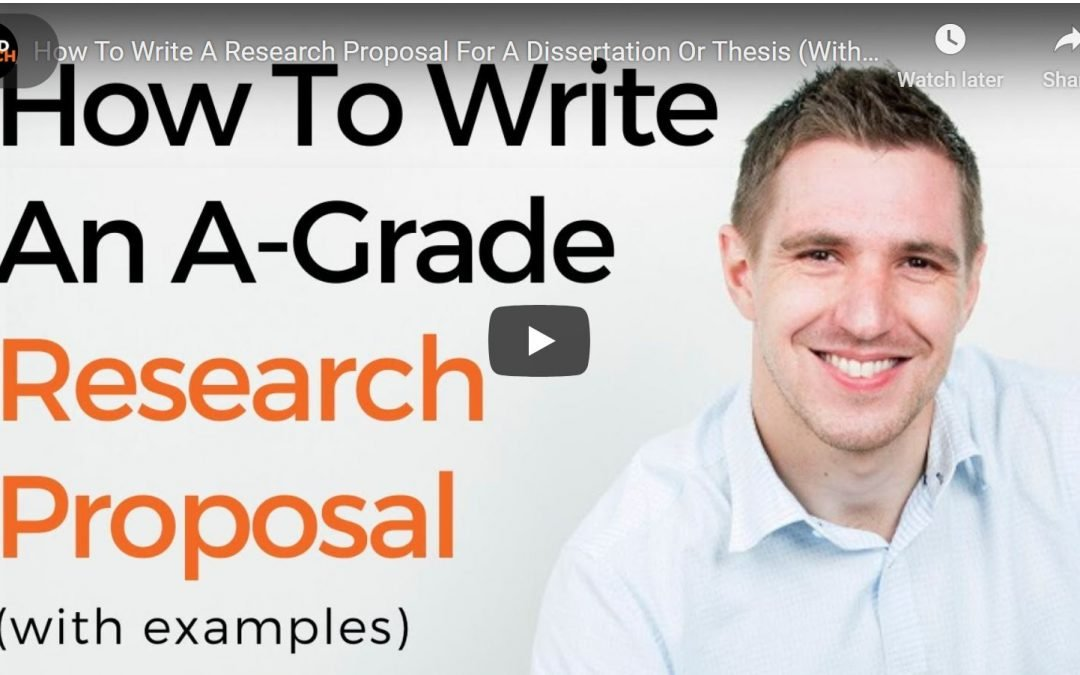 How To Write A Winning Dissertation (Or Thesis) Proposal: 5 Straightforward Steps