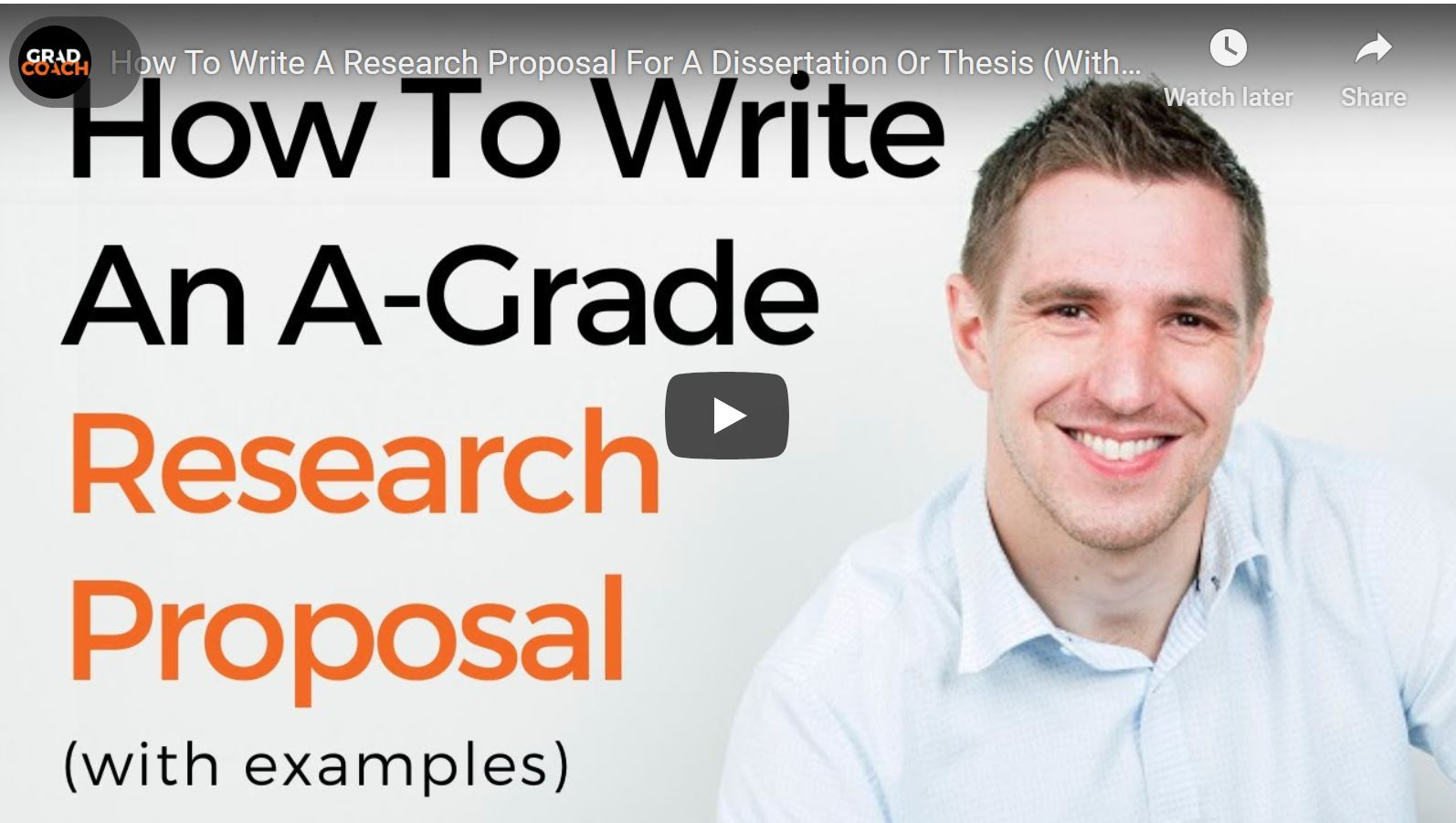 How To Write A Winning Dissertation (Or Thesis) Research Proposal: 5 Straightforward Steps