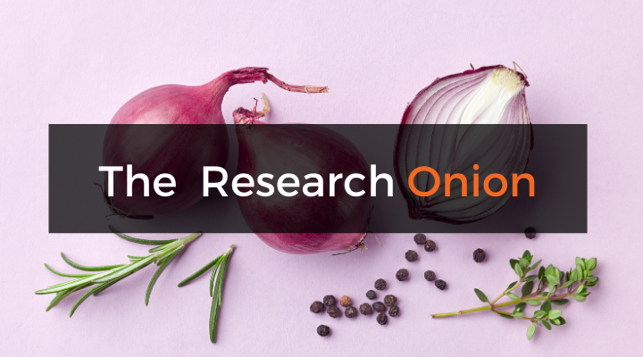 Saunders' Research Onion – Explained Simply (With Examples)