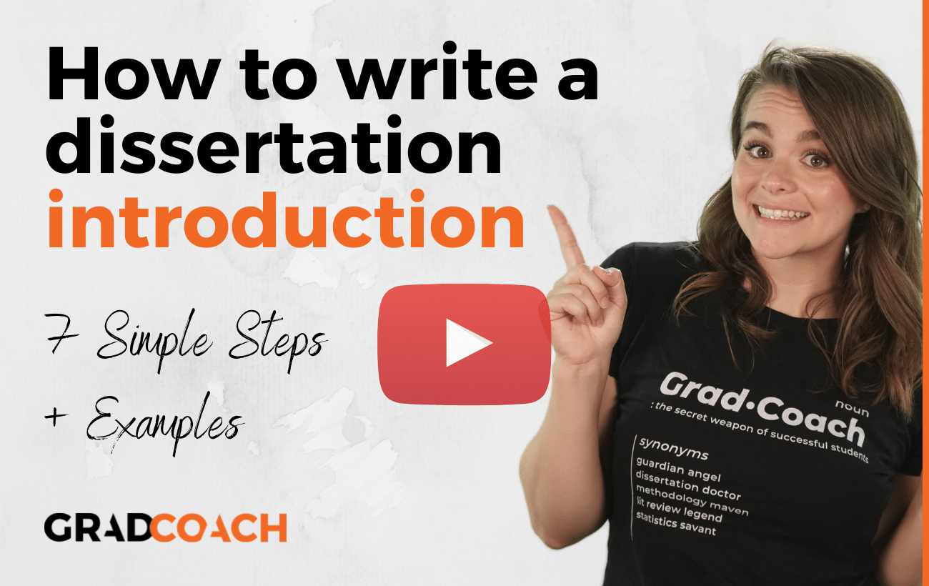 How To Write Your Introduction Chapter (7 Simple Steps)