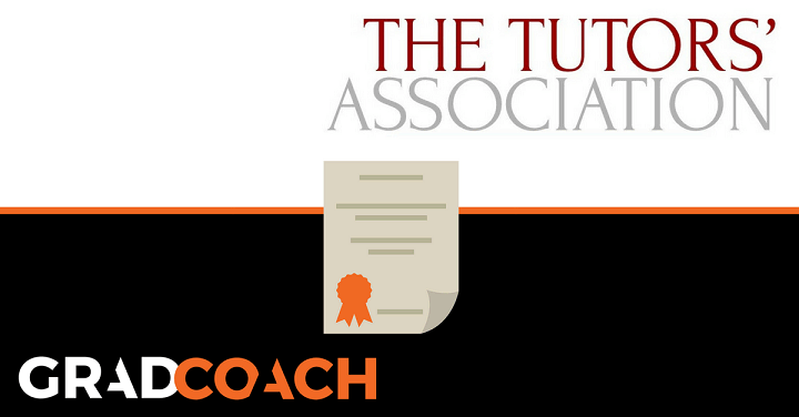 Grad Coach Is Now A Corporate Member Of The Tutors' Association (UK)