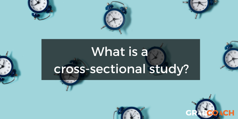 What is a cross-sectional study or cross-sectional research?