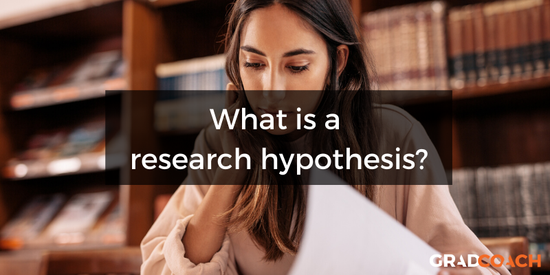 What is a research hypothesis or scientific hypothesis